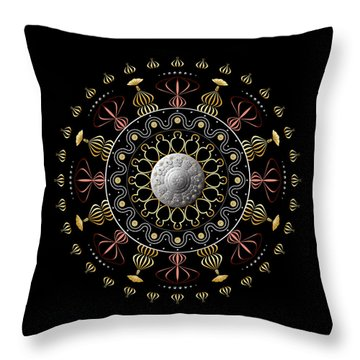 Circulosity No 2925 Throw Pillow