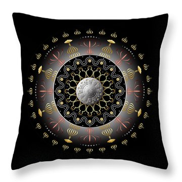 Circulosity No 2927 Throw Pillow