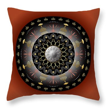 Circulosity No 2928 Throw Pillow