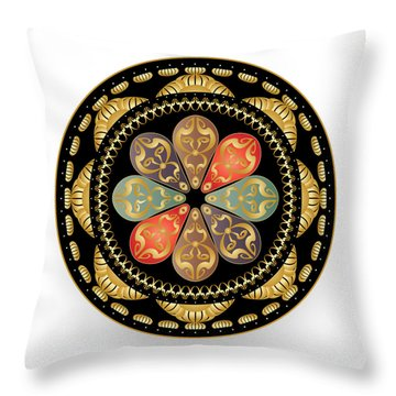 Circulosity No 3012 Throw Pillow