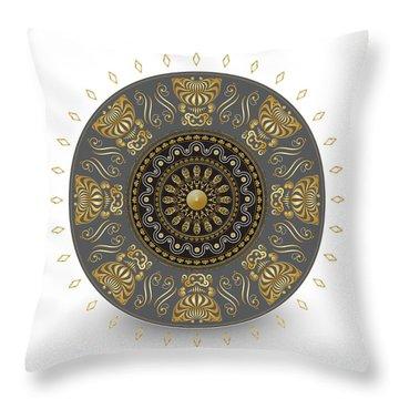 Circulosity No 3014 Throw Pillow