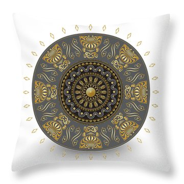 Circulosity No 3014 Throw Pillow