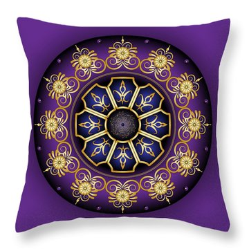 Circulosity No 3030 Throw Pillow