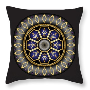 Circulosity No 3032 Throw Pillow
