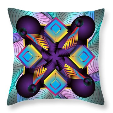 Circulosity No 3122 Throw Pillow