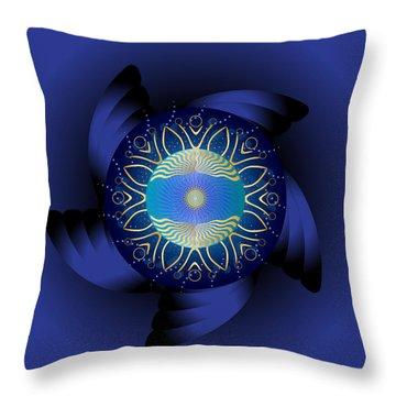 Circulosity No 3123 Throw Pillow