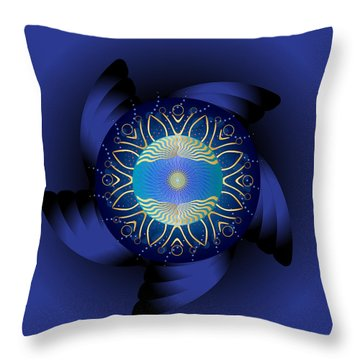 Circulosity No 3123 Throw Pillow