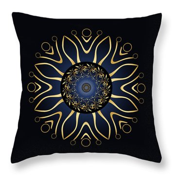 Circulosity No 3125 Throw Pillow