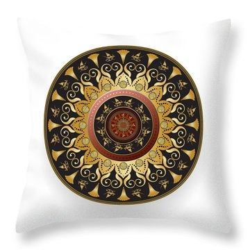 Circulosity No 3127 Throw Pillow