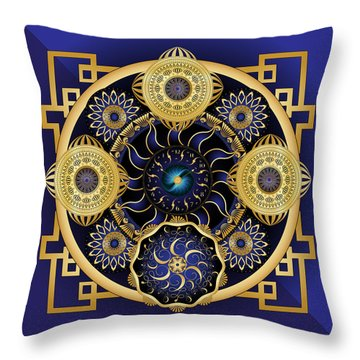 Circulosity No 3128 Throw Pillow