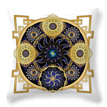 Circulosity No 3129 Throw Pillow