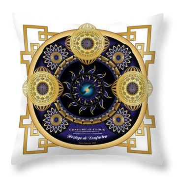 Circulosity No 3130 Throw Pillow