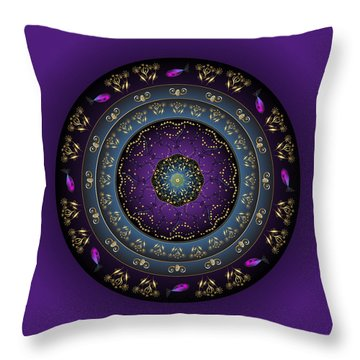 Circulosity No 3159 Throw Pillow