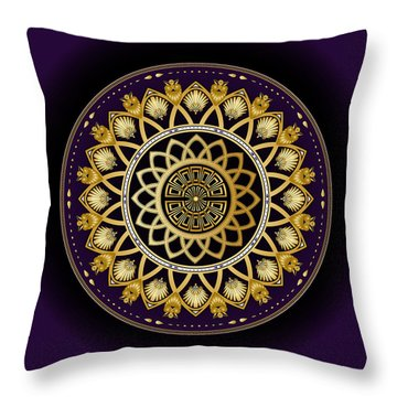 Circulosity No 3258 Throw Pillow