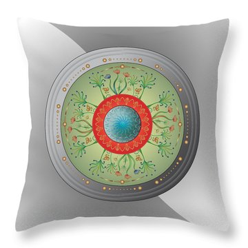 Circulosity No 3265 Throw Pillow