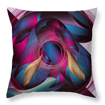 Circulosity No 3271 Throw Pillow