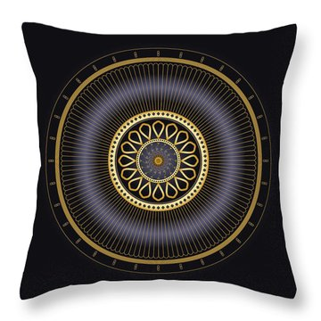 Circulosity No 3272 Throw Pillow