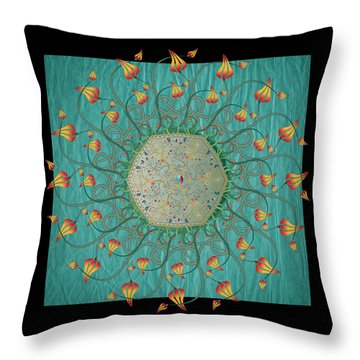 Circulosity No 3274 Throw Pillow