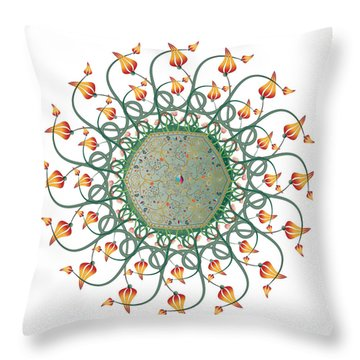 Circulosity No 3275 Throw Pillow
