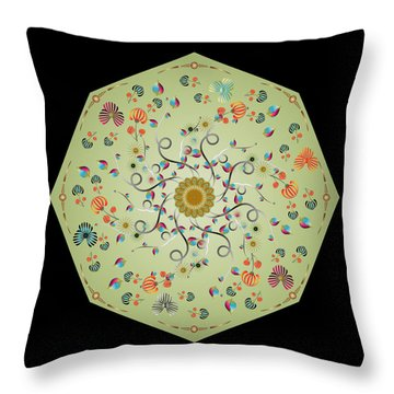 Circulosity No 3278 Throw Pillow