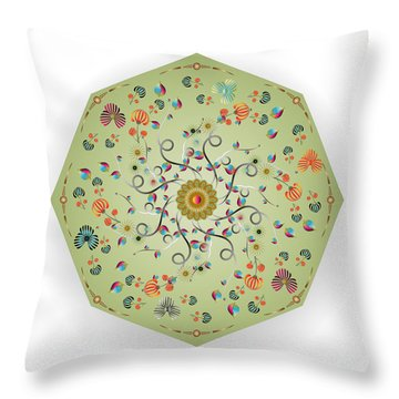 Circulosity No 3279 Throw Pillow
