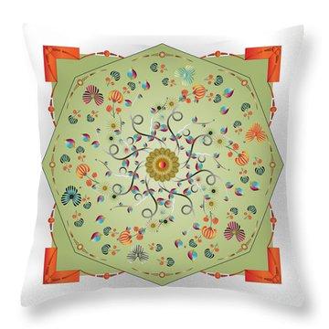 Circulosity No 3280 Throw Pillow