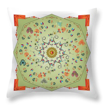 Circulosity No 3280 Throw Pillow