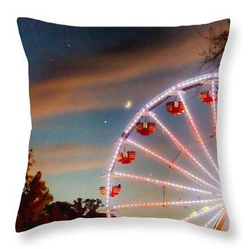 Circus Dusk Throw Pillow