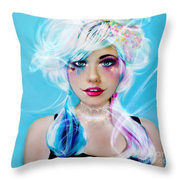 Circus Mind Throw Pillow