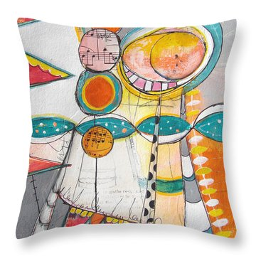 Circus One Throw Pillow