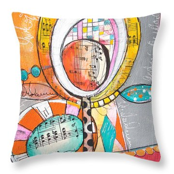 Circus Two Throw Pillow