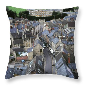Cirencester, England Throw Pillow