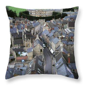 Cirencester, England Throw Pillow