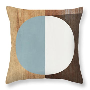 Cirkel Trio- Art By Linda Woods Throw Pillow