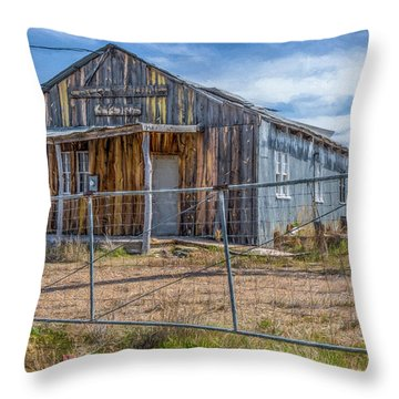 Cisco Landing Store Throw Pillow