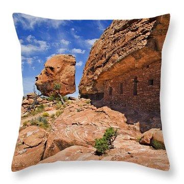 Citadel House Throw Pillow