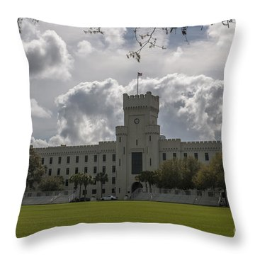 Citadel Military College Throw Pillow
