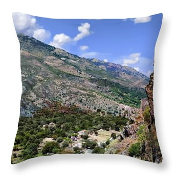 Citadelle De Corte Throw Pillow