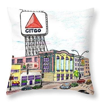Citco Boston Throw Pillow