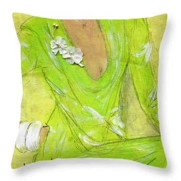 Citron Throw Pillow