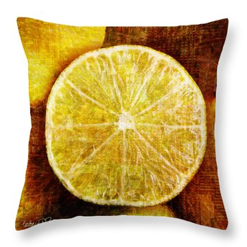 Citrus Throw Pillow