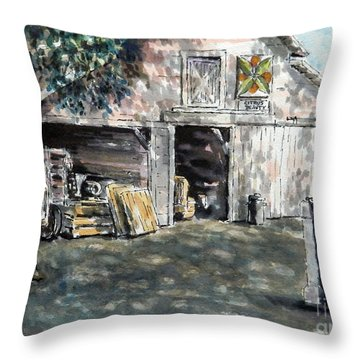 Citrus Beauty Throw Pillow
