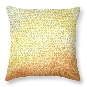 Citrus Mosaic Throw Pillow