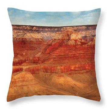 City - Arizona - The Grand Canyon Throw Pillow by Mike Savad
