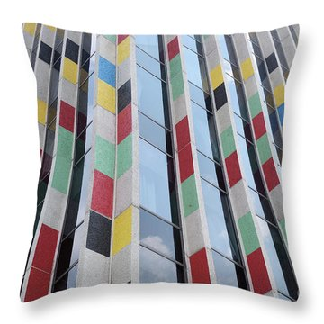 City Abstract One Throw Pillow