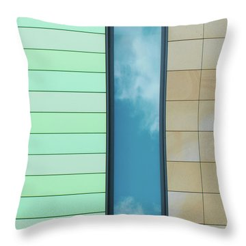 City Abstract Throw Pillow