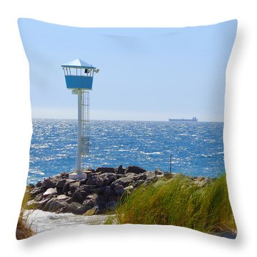 City Beach, Western Australia Throw Pillow