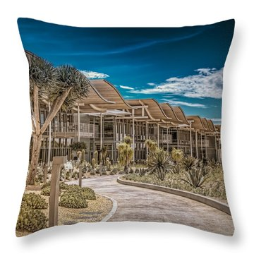 Newport Beach California City Hall Throw Pillow