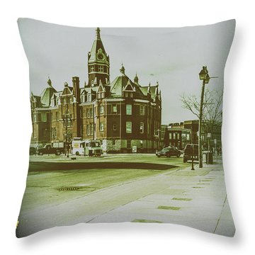 City Hall, Stratford Throw Pillow