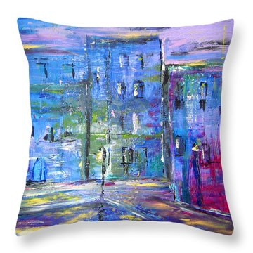 City Mouse Throw Pillow